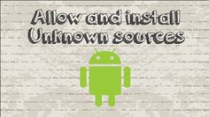 How to allow and install apps from unknown sources on Android #android #google #video #youtube #tutorial #howtocreator #tips #tricks #iOS #App #Free #apk #smartphone #phone #install #unknownsources