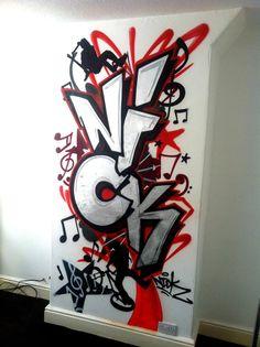 Walltastic Graffiti Wallpaper Mural Http Www
