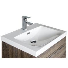 Aquazur meuble salle de bain 2 tiroirs 60cm