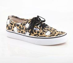Vans x Hello Kitty Women's Authentic: Leopard Size 10 Shoes Nike Adidas, Vans X, Vans Shoes, Sock Shoes, Shoe Boots, Hello Kitty Shoes, Leopard Sneakers, Colorful Shoes, Sanrio Hello Kitty
