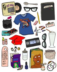 this is so bitchin' :)Ghost World Art Print