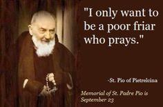 St Padre Pio of Pietrelcina