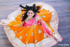Traditional South Indian bride wearing bridal saree, jewellery and hairstyle. #IndianBridalMakeup #IndianBridalFashion #  #TeluguWedding #TeluguBride #Telugu #wedding #Bride