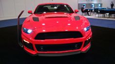2015 Rousch Mustang at auto dealers convention