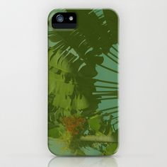 Faux Vintage Tropical Fabric iPhone & iPod Case by LMGlenn - $35.00