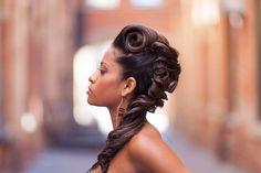 Unique Up do   Hair by Krista Lov  www.fb.com/lovethehairbykristalove