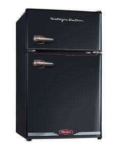 Black Friday 2014 Nostalgia Electrics RRF325HNBLK Retro Series 3.1 Cubic Feet Compact Refrigerator Freezer from Nostalgia Electrics Cyber Monday