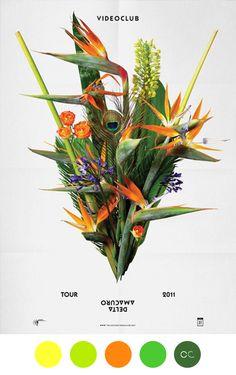 Contemporary Colour - Videoclub Poster