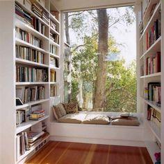 Artist's studio/reading perch in California.