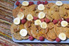 Τηγανίτες σκέτη νοστιμιά, χωρίς γλουτένη, χωρίς ζάχαρη & χορτοφαγικές! – Gfhappy Vegan Vegetarian, Vegetarian Recipes, Vegan Pancakes, Start The Day, Buckwheat, Hello Everyone, Gluten Free, Breakfast, Desserts