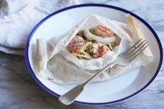 Seafood Spaghetti Baked in Paper (Spaghetti al Cartoccio) on Food52