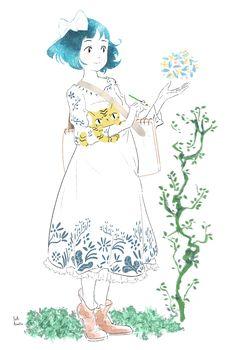 Yuki.Kawatsu Illustration — 夜中にこっそーり__φ(・3・♬ 描くこと…自分の好きなものを自由に生み出す事が出来るんだよ☆...