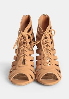 cute lace up wedges