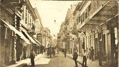 perierga.gr - Αθηναϊκοί δρόμοι πολλά χρόνια πριν! Ερμου 1935