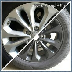 Dip Your Rims While Still on Vehicle. : Factory before and Plasti Dipped after Jeep Rims, Jeep Wheels, Truck Rims, Jeep Jeep, Jeep Willys, Plasti Dip Car, Painted Tires, 4x4, Cars Motorcycles