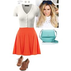 Untitled #378 by stinze on Polyvore featuring Oasis, Kate Spade, Melissa Odabash and Tiffany & Co.