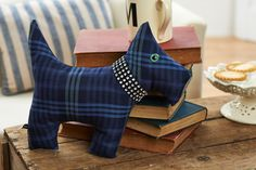 We hope you love this cute Scottie dog as much as we do. Find out how to make him in the Jan issue of Sew!
