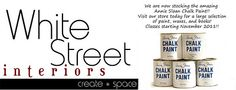 White Street Interiors - Home Decor/Fabric/Furniture - Chalk Paint(TM) Decorative Paint: Monday Makeover: Vintage Dresser Redo