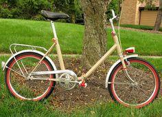 1972 German Klapprad (folding bike), restored by johnmccann1, via Flickr