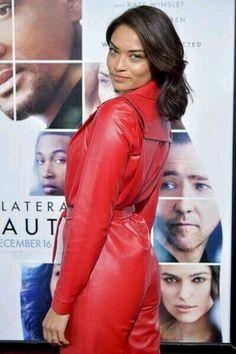 Shanina Shaik, Australian Models, Ted, Leather Jacket, Actresses, Celebrities, Jackets, Fashion, Winter