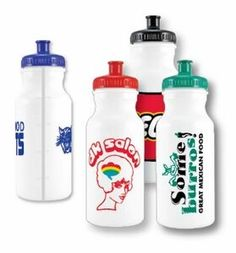 water bottles with visual line