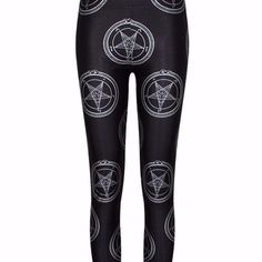 Classic #baphomet leggings are in! http://creaturecraft.co #666 #occult #deathcore #goth #darkartists #occult #satanic #occultclothing All the Satanic Clothing you need at http://ift.tt/2e72FYe