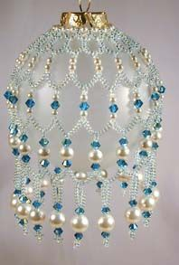 Ornaments, Beaded ornaments and Macrame on Pinterest