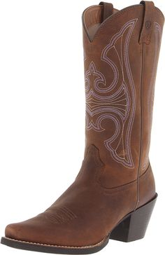 Ariat Women's Round Up D Toe Western Cowboy Boot > Special boots just for you. See it now! : Boots