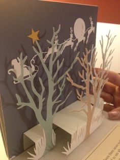 christmas pop up book twas the night