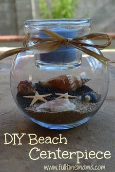 Beach weddings are all the rage, and Dollar Tree has the supplies you need to create beautiful centerpieces for less. Coordinate sand, candle, and ribbon colors with your wedding theme for affordable décor.