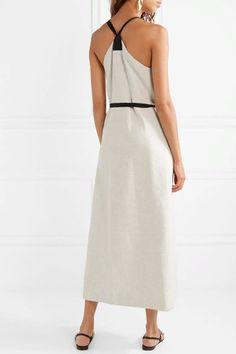 Rosetta Getty Cotton-trimmed Tweed Wrap Dress In Ecru Casual Dresses, Short Dresses, Fashion Dresses, Wrap Dresses, Petite Fashion, Womens Fashion, Curvy Fashion, Fall Fashion, Rosetta Getty