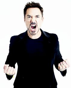 """""""When I was first offered the role, I had some long discussions with Stan Lee and I was 39 at the time. He told me that he had created the Iron Man comic 39 years ago. So Tony Stark and I were born at the same time. Now if that isn't a sign of destiny…"""" —Robert Downey Jr for ESQUIRE Magazine, May 2014."""