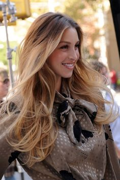 Whitney Port's crazy gorgeous hair.