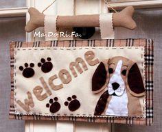 Ma.Do.Ri.Fa.: La targa di benvenuto dog style!