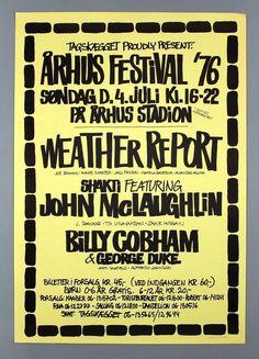 Shakti John McLaughlin RARE Original Aarhus Denmark 1976
