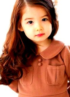 Pretty even if she does not smile. Beauty hairstyle. BABY LAUREN! Hello baby, mblaq