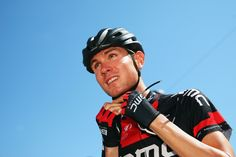 Tejay van Garderen of the USA and the BMC Racing Team prepares for the thirteenth stage of the 2014 Tour de France, a 197km stage between Saint-Etienne and Chamrousse, on July 18, 2014 in Saint-Etienne, France. (Photo by Bryn Lennon/Getty Images)