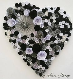 Quilled Heart Handmade Paper Quilling Art Home Decoration Quilling Patterns, Paper Quilling, Diy And Crafts, Paper Crafts, Cardmaking And Papercraft, Craft Items, Etsy Seller, Creations, My Etsy Shop