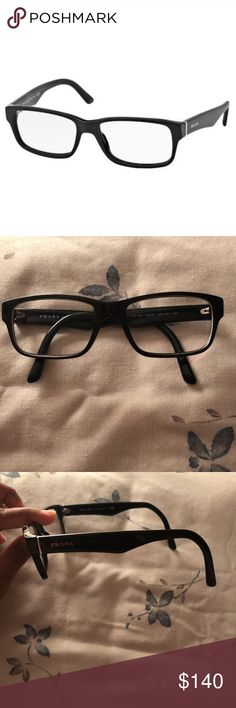 7d0d89faec4 Prada Eyeglasses Gloss black Prada glasses. Used