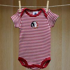 Florida State Baby Striped Bodysuit