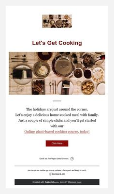 Let's Get Cooking Vegan Cooking Classes, Cooking Courses, Around The Corner, Plant Based, Let It Be, Meals, Simple, Holiday, Vacations