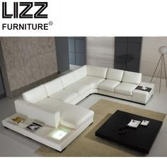 Furniture Set Genuine Leather Sofa For Living Room Modern Sofa Loveseat Chair Chesterfield