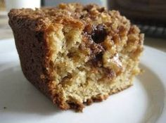 Easy coffee cake ~Ingredients  1 box  yellow cake mix  3  eggs (as box states)  2/3 c  sour cream   oil ( as package states)   water (as package states  TOPPING   1 c  brown sugar, lightly packed  1/2 c  crushed walnuts  1 Tbsp  cinnamon (more if you disire)