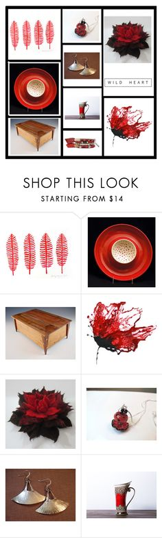 """""""Red Gifts"""" by keepsakedesignbycmm ❤ liked on Polyvore featuring interior, interiors, interior design, home, home decor, interior decorating, Home, jewelry and accessories"""
