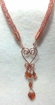 My best Viking knit wire wrapping item