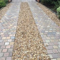 Raj Green Indian Cobbles supplied by Dunedin Stone Ltd for recent Landscaping Project in Bearsden. #NaturalStone