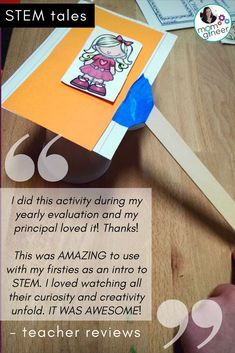 Goldilocks and the 3 Bears in a fairy tale STEM adventure! STEM Tales from Meredith Anderson - Momgineer Steam Activities, Hands On Activities, What Is Stem, Goldilocks And The Three Bears, 3 Bears, Stem Challenges, Play Based Learning, Little Pigs, Fairy Tales
