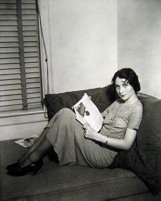 Young Agnes Moorehead. . .