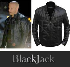 Men's Celebrity Leather Jacket | Black Jack Leathers – Men's & Women's Clothing Store | Black Jack Leathers Sheep Leather, Biker Leather, Leather Jackets, Womens Clothing Stores, Clothes For Women, Women's Clothing, Jack Black, Famous Celebrities, Men And Women