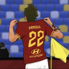 As Roma, Caricature, Cartoon, Sports, Fashion, Hs Sports, Moda, Fashion Styles, Caricatures
